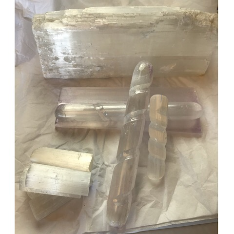 Large Selenite Wands
